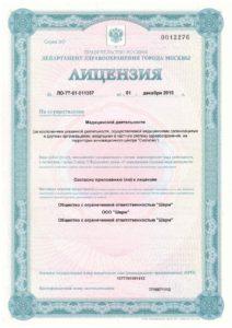 лицензия титул
